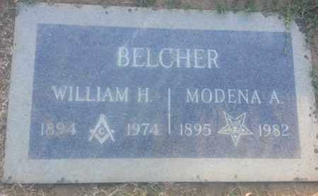 BELCHER, MODENA - Los Angeles County, California | MODENA BELCHER - California Gravestone Photos
