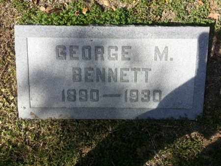 BENNETT, GEORGE M. - Los Angeles County, California | GEORGE M. BENNETT - California Gravestone Photos