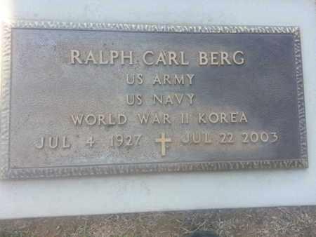 BERG, RALPH - Los Angeles County, California | RALPH BERG - California Gravestone Photos