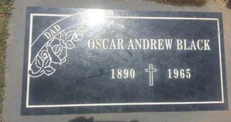 BLACK, OSCAR - Los Angeles County, California | OSCAR BLACK - California Gravestone Photos