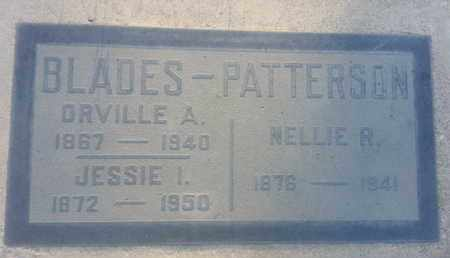BLADES-PATTERSON, NELLIE - Los Angeles County, California | NELLIE BLADES-PATTERSON - California Gravestone Photos
