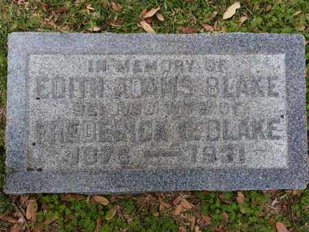 BLAKE, EDITH - Los Angeles County, California | EDITH BLAKE - California Gravestone Photos