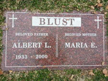 BLUST, MARIA E. - Los Angeles County, California | MARIA E. BLUST - California Gravestone Photos