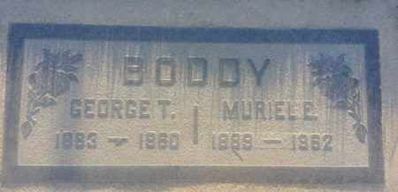 BODDY, MURIEL - Los Angeles County, California | MURIEL BODDY - California Gravestone Photos