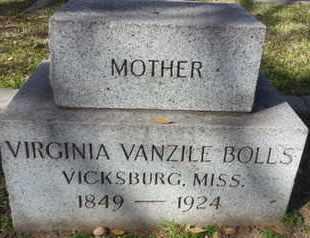 BOLLS, VIRGINIA - Los Angeles County, California | VIRGINIA BOLLS - California Gravestone Photos