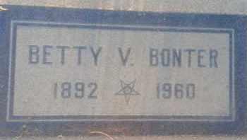 BONTER, BETTY - Los Angeles County, California | BETTY BONTER - California Gravestone Photos