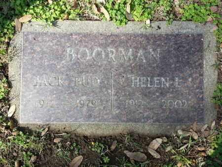 BOORMAN, HELEN L. - Los Angeles County, California | HELEN L. BOORMAN - California Gravestone Photos