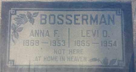 BOSSERMAN, LEVI - Los Angeles County, California | LEVI BOSSERMAN - California Gravestone Photos