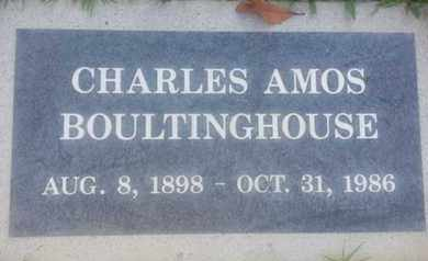 BOULTINGHOUSE, CHARLES - Los Angeles County, California | CHARLES BOULTINGHOUSE - California Gravestone Photos