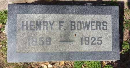 BOWERS, HENRY F. - Los Angeles County, California | HENRY F. BOWERS - California Gravestone Photos