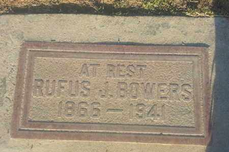 BOWERS, RUFUS - Los Angeles County, California | RUFUS BOWERS - California Gravestone Photos