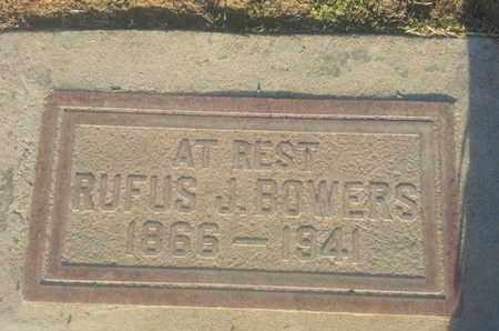 BOWERS, RUFUS - Los Angeles County, California | RUFUS BOWERS - California Gravestone Photos