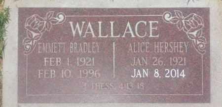 HERSHEY WALLACE, ALICE - Los Angeles County, California   ALICE HERSHEY WALLACE - California Gravestone Photos
