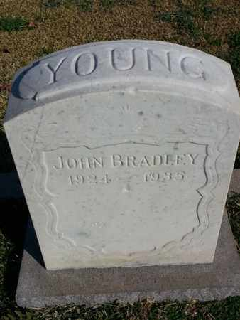 YOUNG, JOHN BRADLEY - Los Angeles County, California | JOHN BRADLEY YOUNG - California Gravestone Photos