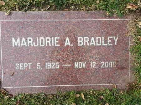 BRADLEY, MARJORIE A. - Los Angeles County, California | MARJORIE A. BRADLEY - California Gravestone Photos