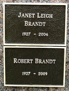 LEIGH BRANDT, JANET  (ACTOR) - Los Angeles County, California | JANET  (ACTOR) LEIGH BRANDT - California Gravestone Photos
