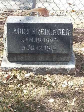 BREININGER, LAURA - Los Angeles County, California | LAURA BREININGER - California Gravestone Photos