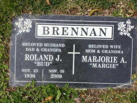 BRENNAN, ROLAND J. - Los Angeles County, California | ROLAND J. BRENNAN - California Gravestone Photos