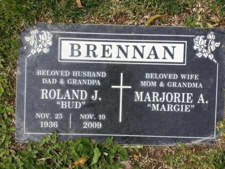 BRENNAN, MARJORIE A. - Los Angeles County, California   MARJORIE A. BRENNAN - California Gravestone Photos