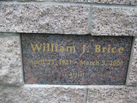 BRICE, WILLIAM J. - Los Angeles County, California | WILLIAM J. BRICE - California Gravestone Photos