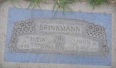 BRINKMANN, JULIA - Los Angeles County, California | JULIA BRINKMANN - California Gravestone Photos