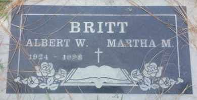 BRITT, ALBERT - Los Angeles County, California | ALBERT BRITT - California Gravestone Photos