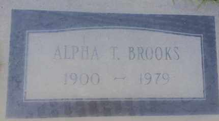 BROOKS, ALPHA - Los Angeles County, California | ALPHA BROOKS - California Gravestone Photos