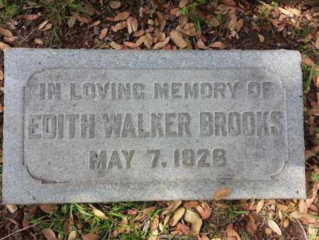 BROOKS, EDITH - Los Angeles County, California | EDITH BROOKS - California Gravestone Photos