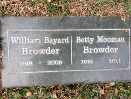 BROWDER, WILLIAM B. - Los Angeles County, California | WILLIAM B. BROWDER - California Gravestone Photos