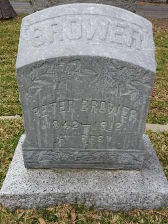 BROWER, PETER - Los Angeles County, California | PETER BROWER - California Gravestone Photos