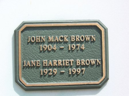 BROWN, JOHN MACK - Los Angeles County, California   JOHN MACK BROWN - California Gravestone Photos