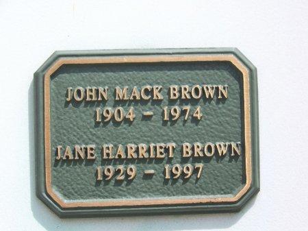 BROWN, JANE HARRIET - Los Angeles County, California | JANE HARRIET BROWN - California Gravestone Photos