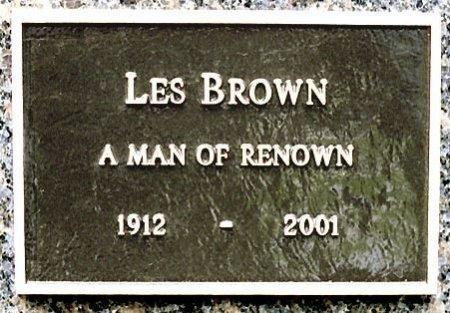 "BROWN, LESTER RAYMOND ""LES"" (BANDLEADER) - Los Angeles County, California | LESTER RAYMOND ""LES"" (BANDLEADER) BROWN - California Gravestone Photos"