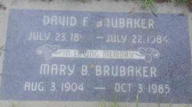 BRUBAKER, DAVID - Los Angeles County, California | DAVID BRUBAKER - California Gravestone Photos