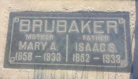 BRUBAKER, ISAAC - Los Angeles County, California | ISAAC BRUBAKER - California Gravestone Photos
