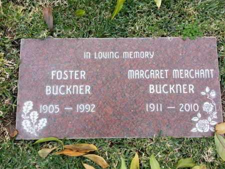 BUCKNER, FOSTER - Los Angeles County, California | FOSTER BUCKNER - California Gravestone Photos