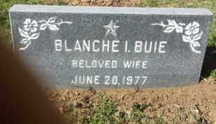 BUIE, BLANCHE I. - Los Angeles County, California | BLANCHE I. BUIE - California Gravestone Photos
