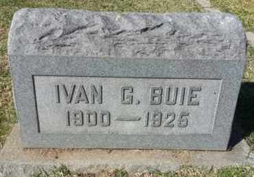 BUIE, IVAN G. - Los Angeles County, California | IVAN G. BUIE - California Gravestone Photos
