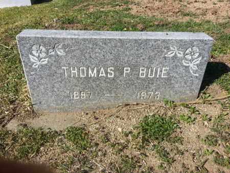 BUIE, THOMAS P. - Los Angeles County, California | THOMAS P. BUIE - California Gravestone Photos