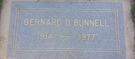 BUNELL, BERNARD - Los Angeles County, California | BERNARD BUNELL - California Gravestone Photos