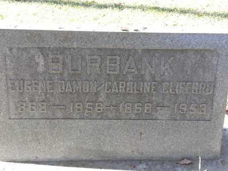 BURBANK, EUGENE - Los Angeles County, California | EUGENE BURBANK - California Gravestone Photos