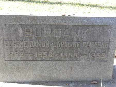 BURBANK, EUGENE - Los Angeles County, California | EUGENE BURBANK - California Gravestone Photos