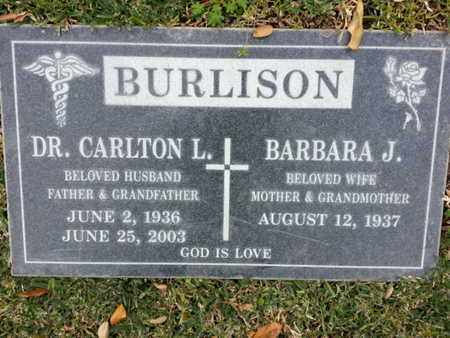 BURLISION, BARBARA J. - Los Angeles County, California | BARBARA J. BURLISION - California Gravestone Photos