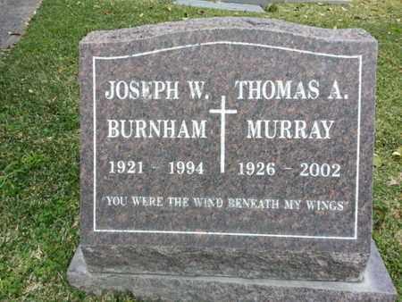 BURNHAM, JOSEPH W. - Los Angeles County, California | JOSEPH W. BURNHAM - California Gravestone Photos