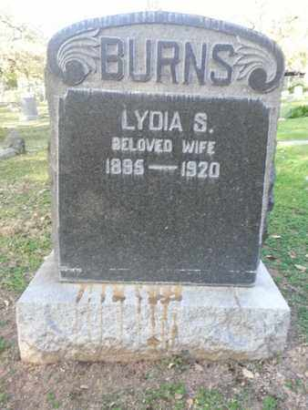 BURNS, LYDIA S. - Los Angeles County, California | LYDIA S. BURNS - California Gravestone Photos