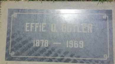 BUTLER, EFFIE - Los Angeles County, California | EFFIE BUTLER - California Gravestone Photos