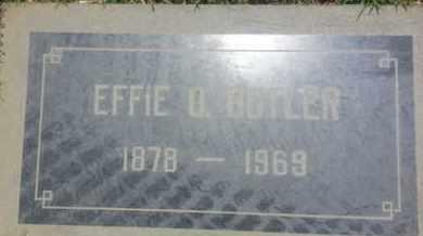 BUTLER, EFFIE - Los Angeles County, California | EFFIE BUTLER - California Gravestone Photos