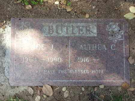 BUTLER, ALTHEA C. - Los Angeles County, California | ALTHEA C. BUTLER - California Gravestone Photos