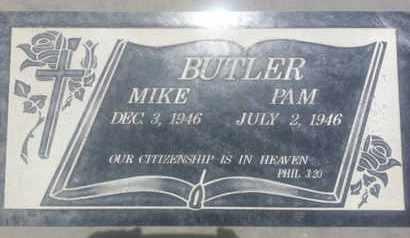 BUTLER, MIKE - Los Angeles County, California   MIKE BUTLER - California Gravestone Photos