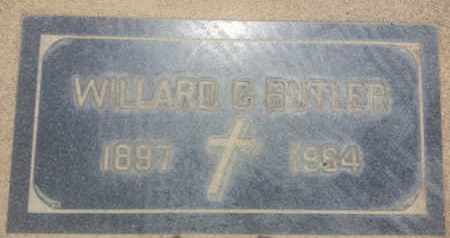 BUTLER, WILLARD - Los Angeles County, California   WILLARD BUTLER - California Gravestone Photos